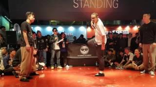 Poppin J & Hoan vs Soul Bin & Feel In – Last Man Standing Korea Session 2k16