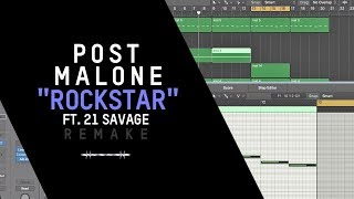 Download Lagu Making a Beat: Post Malone - Rockstar ft. 21 Savage Mp3