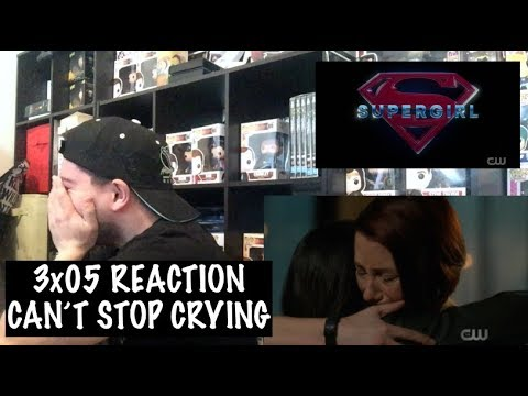 SUPERGIRL - 3x05 'DAMAGE' REACTION
