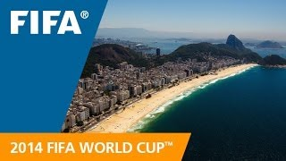 From the sky to to the ocean to the Favelas and so many famous sites, see 2014 FIFA World Cup host city Rio de Janeiro, Brazil like you've never seen it befo...