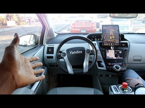 Riding in a Driverless Taxi at CES 2019!