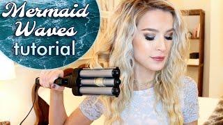 Easy Mermaid Waves Hair Tutorial | leighannsays by Leigh Ann Says