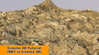 RDT in Cinema 4D - Now in English ;) (Cinema 4D Tutorial)
