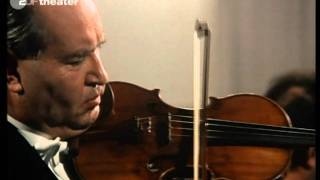 David Oistrach and Paul Badura-Skoda play Mozart's Sonata for Violin and Piano KV 454 in B major-Andante (HD video)