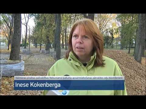 Uzsākta Vecpuišu parka atjaunošana
