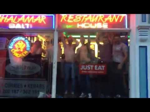 After a local nightclub shut down, residents of Wakefield, UK decided to carry on the party at a kebab shop...