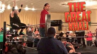 "SWF INDY WRESTLING ON THE WEB http://swfpro.com/grim teams up with lucha legend el jefe rojo in this independent wrestling match vs 5 guys in a crazy match for the swf tag team championships with insane wwe finishing moves and special enforcer former wwe superstar the great khali helps df to victory in this official professional wrestling ppv entertainment video!Save 10% on your wrestling figures with coupon code ""GRIM"" here: http://www.ringsidecollectibles.com/Merchant2/merchant.mv?&DHPlease rate comment and subscribe to this channel for the most fun pro wrestling channel on youtube! This is not a real fight it is professional wrestling style wwe entertainment. Dont miss daily episodes from the greatest toy collector of all time, GRIM!OUR SECOND CHANNEL: http://www.youtube.com/user/kidlockdmhOFFICIAL WEBSITE: http://grimstoyshow.com/GET GRIMS TOY SHOW TSHIRTS HERE!! http://440416.spreadshirt.com/FOLLOW US ON TWITTER https://twitter.com/GrimsToyShow Grims Toy Show does NOT have a FACEBOOK GRIM'S fan run INSTAGRAM account @GTSAMABASSADOR"