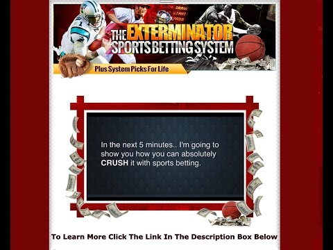 The Exterminator Sports Betting System - Take A Look