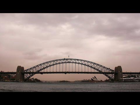 Sydney landmarks shrouded in haze as dust storm sweeps city