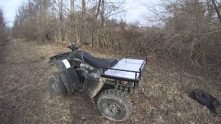10. Modified Arctic Cat TBX 400 4x4
