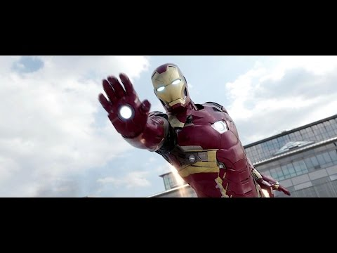 Iron Man - Fight Moves Compilation HD