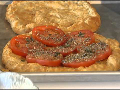 Cooking with Chef Lalanne Fresh Tomato Galette