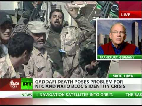 'Gaddafi death an omen of  tribal war & mob rule in Libya'