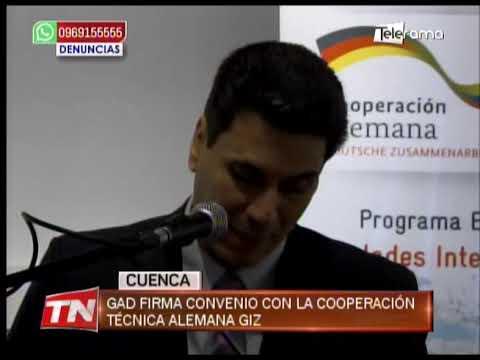 GAD firma convenio con la Cooperación Técnica Alemana GIZ