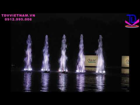 Vòi phun nước nghệ thuật VarioJet - Thiết bị vòi phun đài phun nước