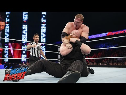 event - Big Red takes on Kane on WWE Main Event. See FULL episodes of WWE Main Event on WWE NETWORK: http://bit.ly/WWEME Don't forget to SUBSCRIBE: http://bit.ly/1i64OdT.
