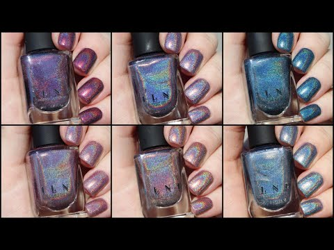 ILNP Fall Into Winter Holos   Live Swatch
