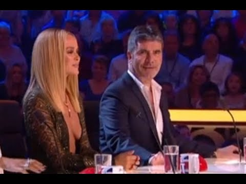 Britain's Got Talent's Amanda Holden Flashes 'bare Boobs' Live On Air
