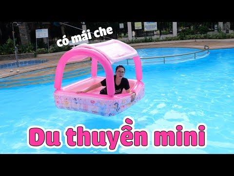 Du Thuyền Mini Có Mái Lênh Đênh Giữa Biển - Thời lượng: 12 phút.