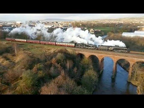 Βρετανία: Ο «Ιπτάμενος Σκωτσέζος» επέστρεψε στις ράγες