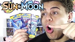 It's PRERELEASE Day! Opening 3 ENGLISH Pokemon Sun & Moon Booster Packs! by ThePokeCapital