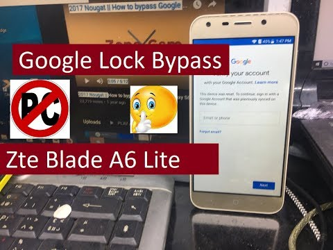 Download How To Bypass Google Lock Frp Zte On Android 7 1 1 Nougat