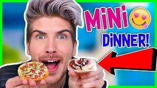 Video I MADE MYSELF A TINY DINNER! MP3, 3GP, MP4, WEBM, AVI, FLV Juli 2018