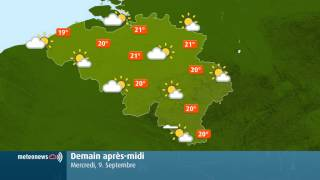Weather for Belgium + World YouTube video