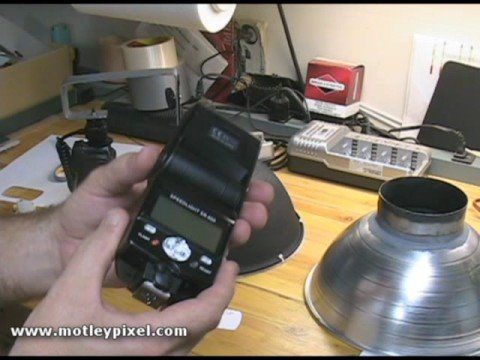 DIY DSLR Ring-Flash part 2 of 2