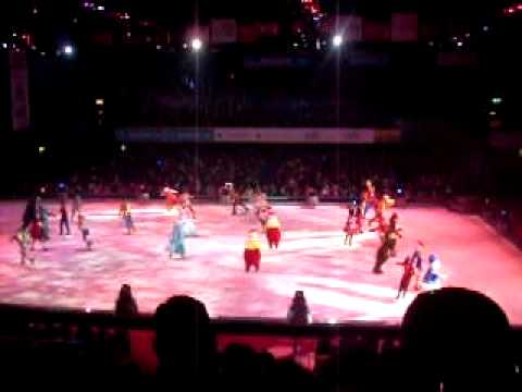 parte final disney on ice luna park 2011 (видео)