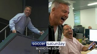 Video What happens behind-the-scenes on Soccer Saturday?! MP3, 3GP, MP4, WEBM, AVI, FLV Agustus 2019