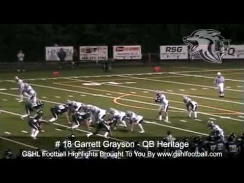 Garrett Grayson High School Highlights video.