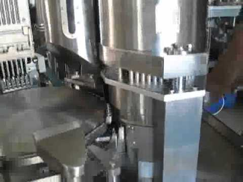 NJP800 capsule filling machine with pellet feeder