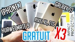 Video J'offre 3 iPhone 7 ou 3 Smartphones de vos rêves ! MP3, 3GP, MP4, WEBM, AVI, FLV Oktober 2017