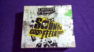Unboxing!! - 5 Seconds Of Summer - Sounds Good Feels Good (Deluxe) +