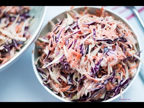 Simple Coleslaw Recipe [EPISODE 43] -Ke's Cook Island