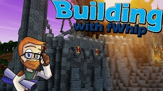 Building with fWhip :: Castle Ramparts and Feast hall :: #63 Minecraft 1.12 Single Player Survival