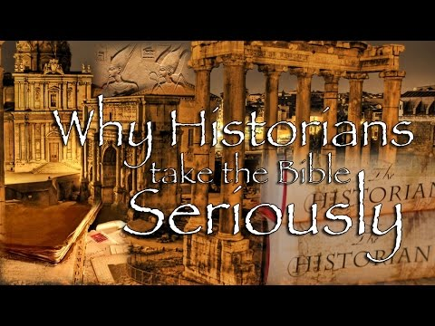 Why Historians Take The Gospel Seriously – Dr. John Dickson