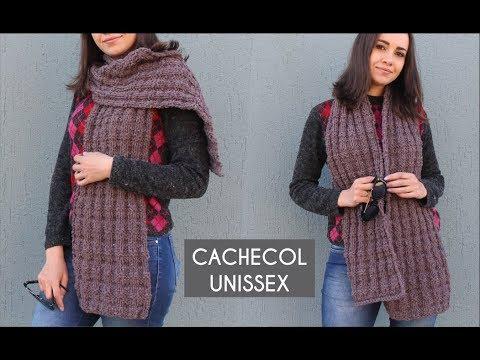 Cachecol Unissex
