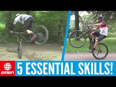 Essential Mountain Bike Skills You Can Do Anywhere! (видео)