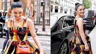 Video LOOK! Heart Evangelista outfits in Paris France wow netizens! MP3, 3GP, MP4, WEBM, AVI, FLV November 2018