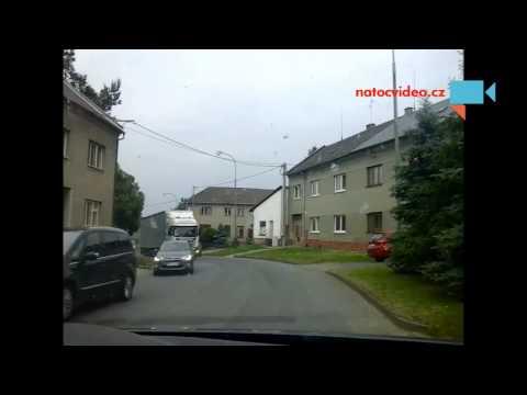 Nehoda na dálnici, Olomouc na Prostějov.