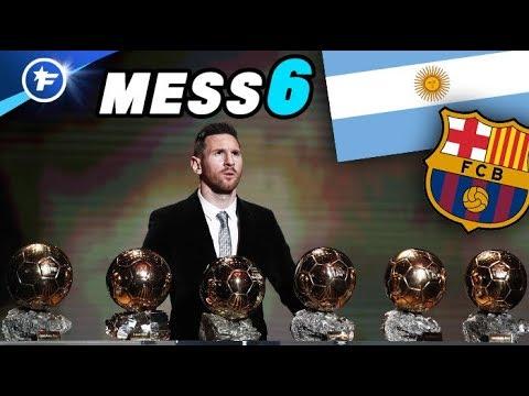 Lionel Messi remporte son 6e Ballon d'Or !