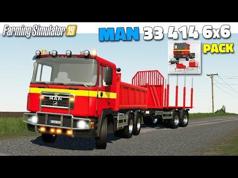 MAN 33 414 6x6 Pack v1.0.0.0