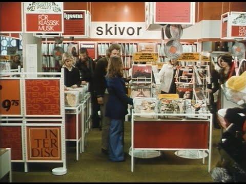 """""""Skivaffär på Tempo"""" - Husmors Filmer 1974"""
