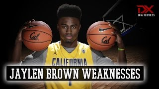 Jaylen Brown 2015-16 Preseason Scouting Video - Weaknesses