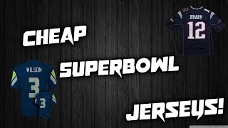 My friend Jenny who has sent me some jerseys to review before now has Superbowl jerseys up, and can get to your house before the Superbowl! Hope this video helped, links below! http://www.jennyloopnfljerseys.ru/superbowl-xlix-jerseys-c-2155.html Review video: https://www.youtube.com/watch?v=BPTDTXAk1Xk