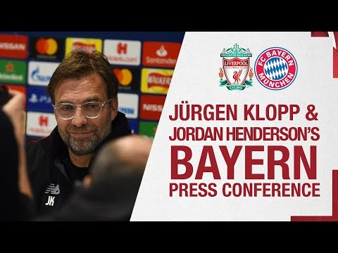 Video: Klopp and Henderson's Champions League press conference | Bayern Munich