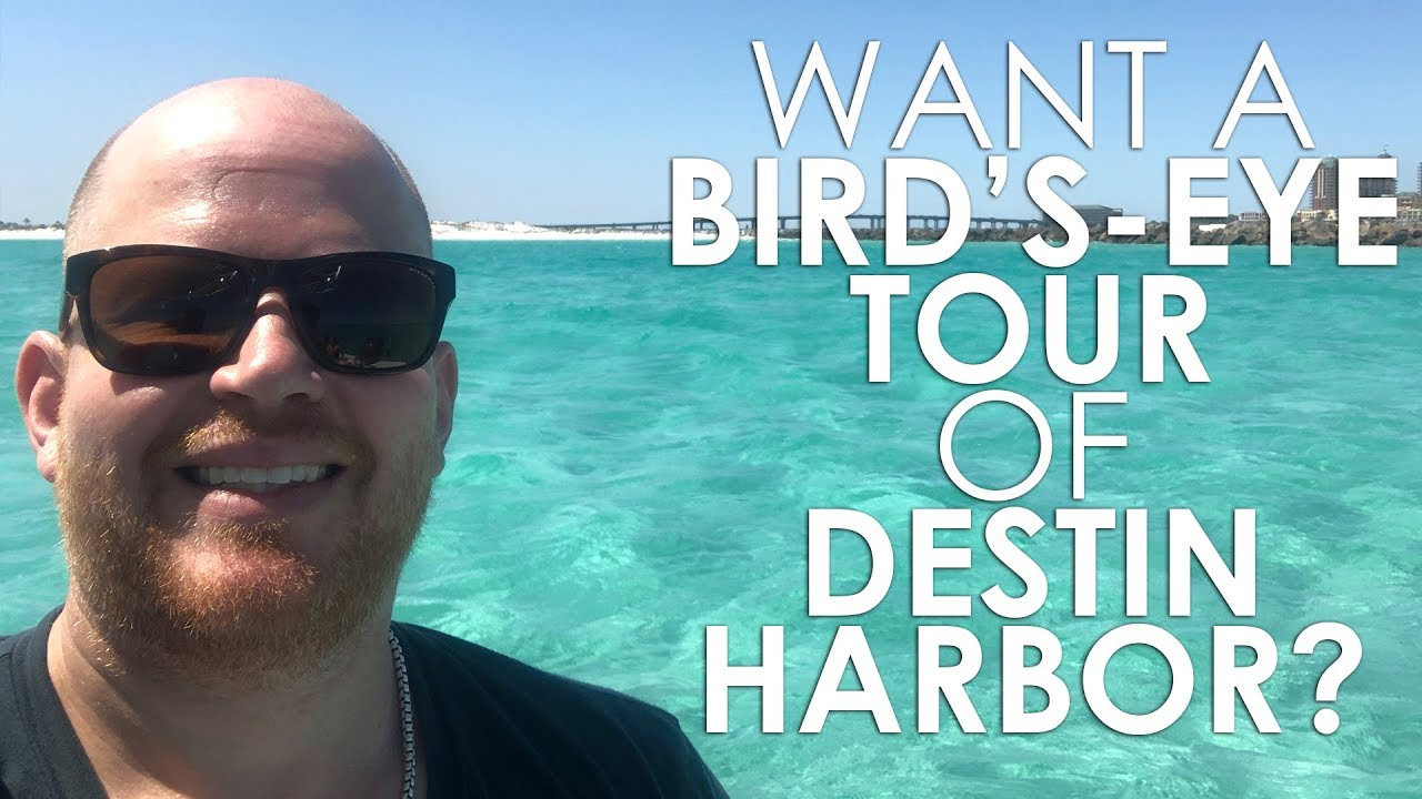 Get a Bird's-Eye View of Destin Harbor With Our Aerial Tour