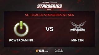 PowerGaming vs Mineski, Game 2, SL i-League StarSeries Season 3, SEA